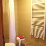 Ferienwohnung Laubfrosch: Bad mit Dusche und WC