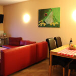 Ferienwohnung Laubfrosch: Wohnzimmer