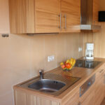Ferienwohnung Waschbär: Küche